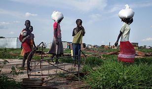 Wiele organizacji pomocowych działa obecnie w Południowym Sudanie