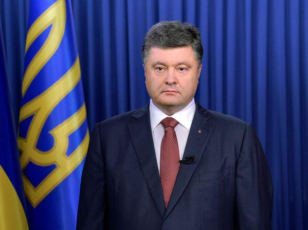 Ukraina: Petro Poroszenko nakazał wstrzymać ogień