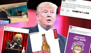 Polskie firmy próbują ugrać coś na wizycie Trumpa. Nie wszystkim wychodzi to dobrze