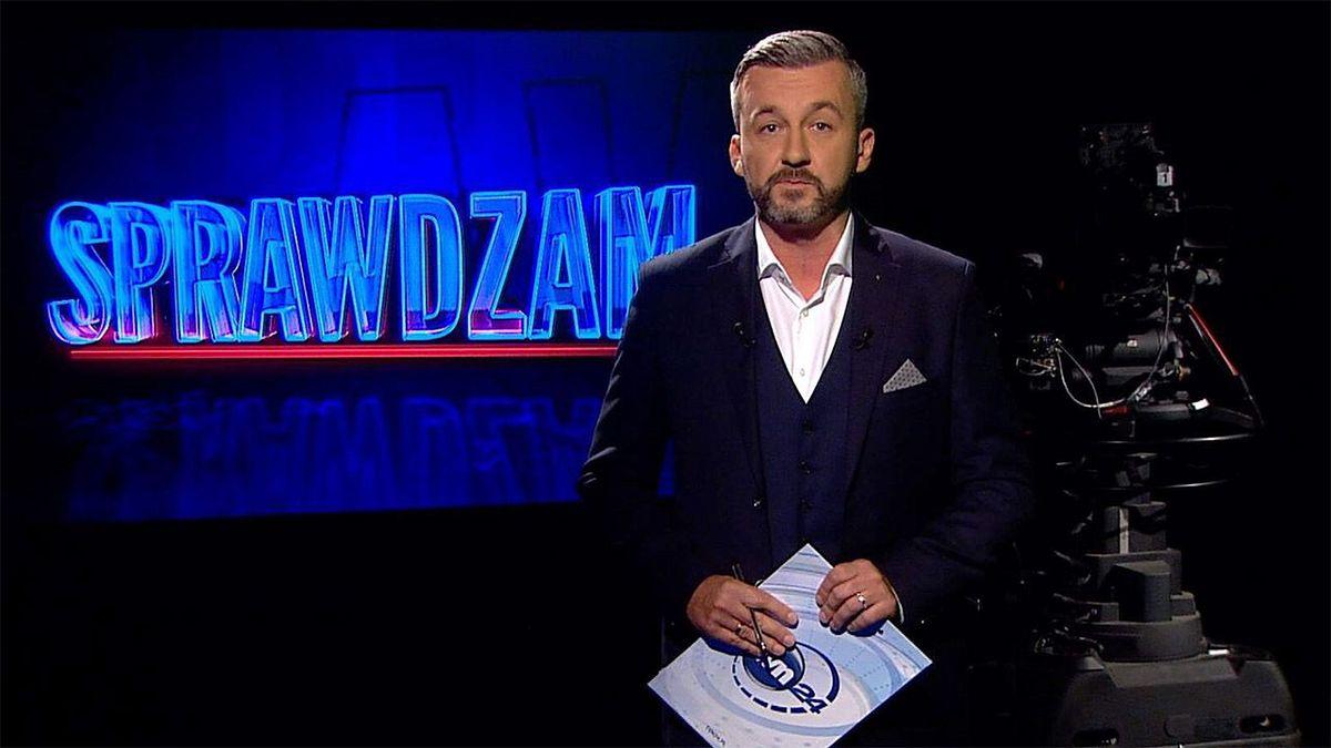 """Krzysztof Skórzyński był gospodarzem programu """"Sprawdzam"""""""
