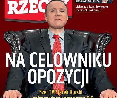 """Tygodnik """"Do Rzeczy"""" opisuje fenomen prezesa TVP Jacka Kurskiego"""