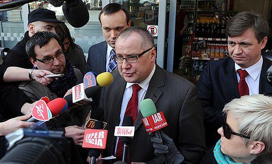 Politycy zaskoczyli pracowników na stacji