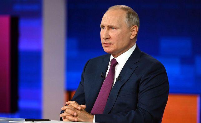 Putin skrytykował kraje UE  za sankcje wobec Białorusi (Agency via Getty Images)