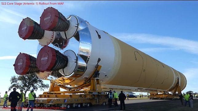 NASA szykuje się do wielkiego dnia. Boeing wraca do testów megarakiety SLS