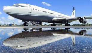 Boeing 707 - żywa legenda lotnictwa. Samolot ma ponad 60 lat i nie wybiera się do muzeum