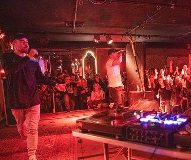 PRO8L3M, czyli Steez i Oskar, podczas koncertu w Nowym Jorku