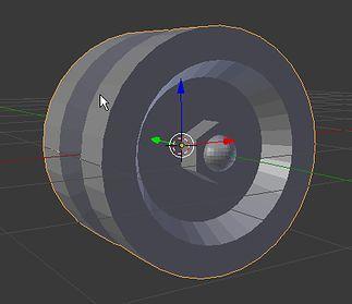 Gotowe koło w trybie obiektowym