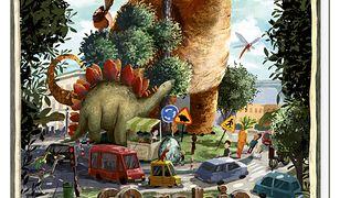 Opowiem ci, mamo, co robią dinozaury
