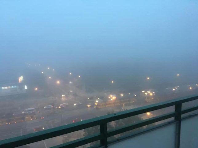 Pogoda. Uwaga na gęste mgły na drogach