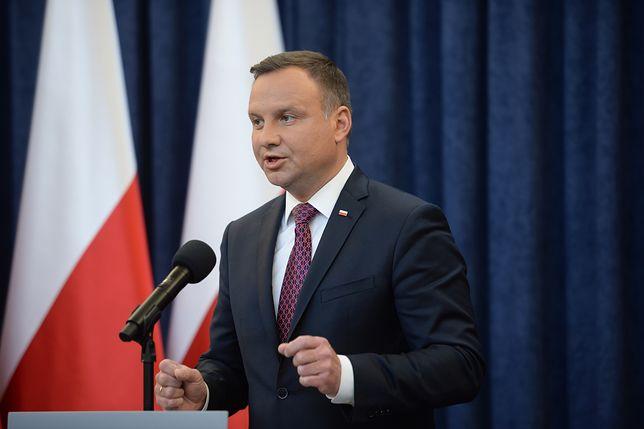 Prezydent Andrzej Duda ogłasza swoją inicjatywę w sprawie Sądu Najwyższego.