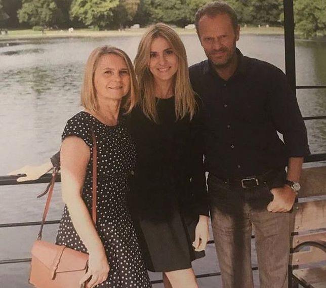 Donald Tusk z rodziną na wakacjach