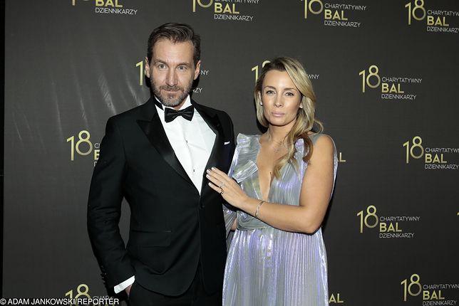 Karolina Ferenstein-Kraśko wraz z mężem Piotrem Kraśko