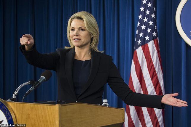 Heather Nauert wydała oświadczenie w imieniu Departamenty Stanu USA
