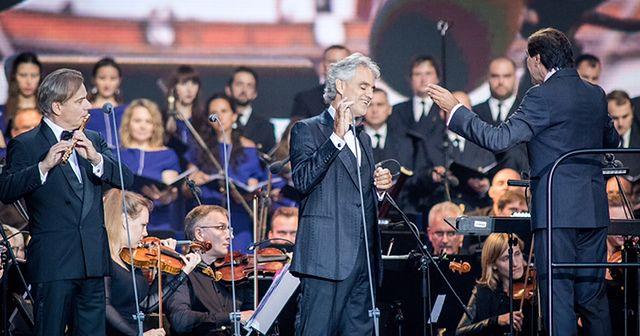 koncerty Bocellego przyciągają tłumy
