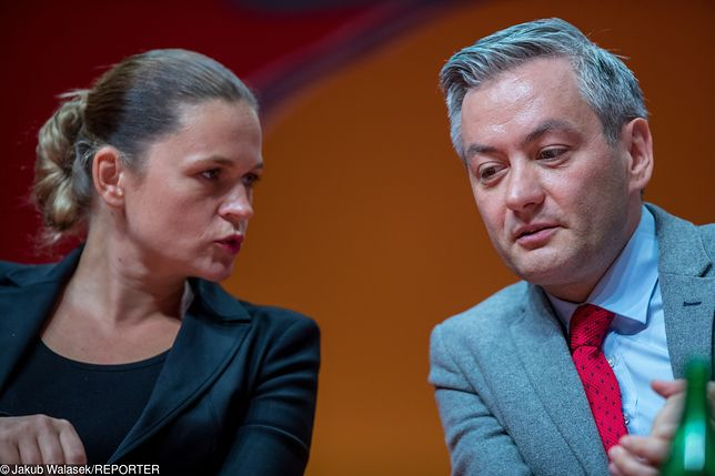 """Robert Biedroń skomentował konwencję PO. Nowacka odpowiada: """"Po co ten jad?"""""""