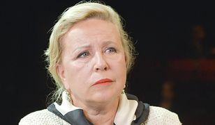 """Krystyna Janda pokazała zdjęcia z pożegnania Piotra Machalicy. """"Koszmarny dzień"""""""