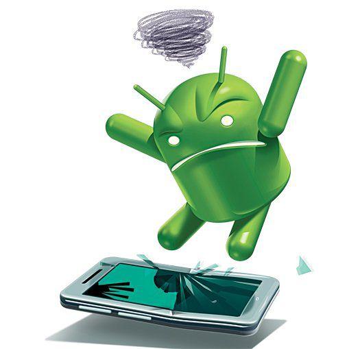 Sam Android jest zły, gdyż instalują go na zbyt słabym sprzęcie xP