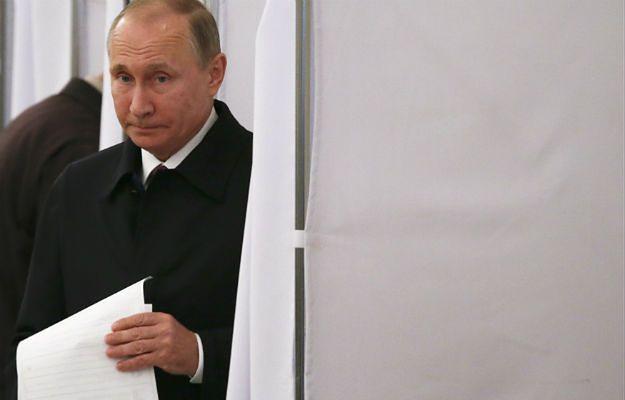 Cel Kremla na wybory prezydenckie: Putin ma zdobyć 70 proc. głosów