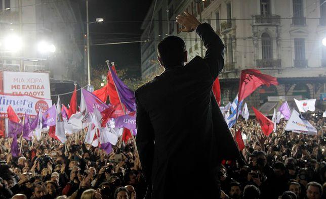 Aleksis Cipras zaprzysiężony jako nowy premier Grecji