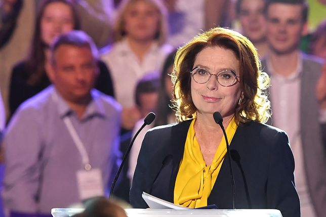 Wybory parlamentarne 2019. Małgorzata Kidawa-Błońska: Wałęsa był i będzie bywał na konwencjach KO