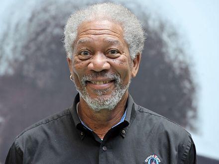 Morgan Freeman sobą po pracy