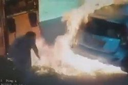 #dziejesiewmoto [76]: pożar na stacji, łódzkie skrzyżowanie i wyprzedzanie na pasach
