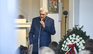 Zborowski pożegnał Kowalewskiego na pogrzebie. Wygłosił wzruszające przemówienie