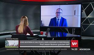 Przemysław Czarnek i wizyta w szpitalu. Adam Bodnar o omijaniu zakazów