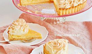 Tarta cytrynowa z cytrynową bezą