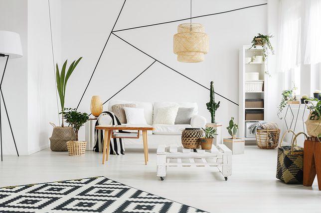 Białe meble charakteryzują się prostotą i funkcjonalnością
