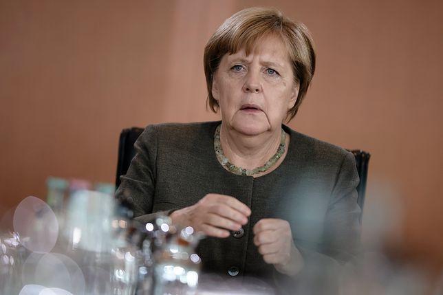 """Angeli Merkel nie spodobało się wystąpienie Donalda Trumpa. """"Absolutnie niewłaściwe"""""""