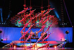 Niezwykły Cirque du Soleil