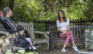 Kate Middleton w białych sneakersach. Te tenisówki są teraz na przecenie