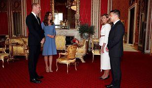 Kate i William w zastępstwie za królową. Przyjęli prezydenta Ukrainy