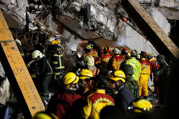 Trwa intensywna akcja ratunkowa