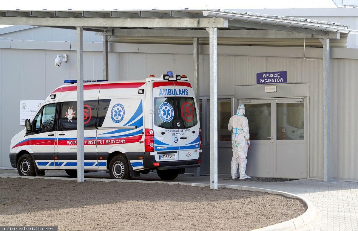 Koronawirus w Polsce. Młode osoby w szpitalach