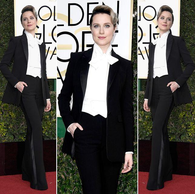 Evan Rachel Wood na gali Złotych Globów