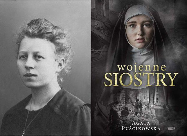 """S. Adelgund Tumińska to jedna z bohaterek książki """"Wojenne siostry"""" Agaty Puścikowskiej"""