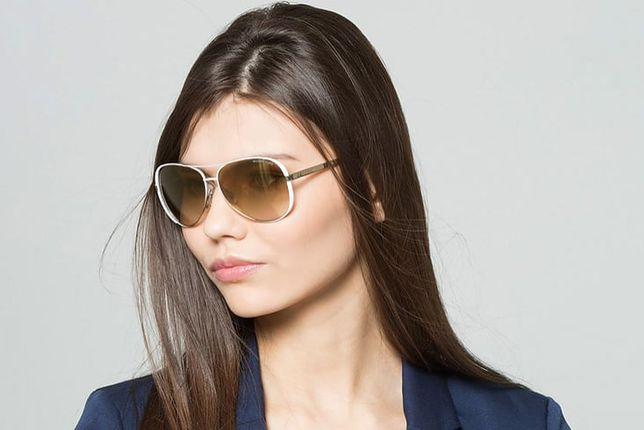 Okulary przeciwsłoneczne Michael Kors to klasa i modny wygląd