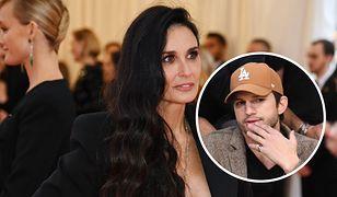 Demi Moore oskarżyła Ashtona Kutchera o zdrady