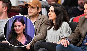 Mila Kunis i Ashton Kutcher nie przejmują się oskarżeniami Demi Moore