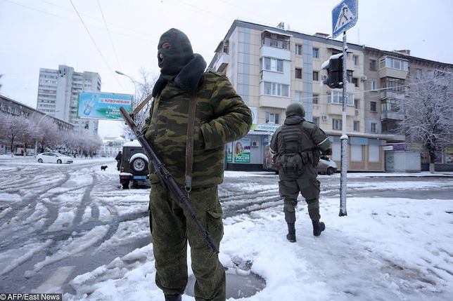 Zielone ludziki pojawiły się w Ługańsku