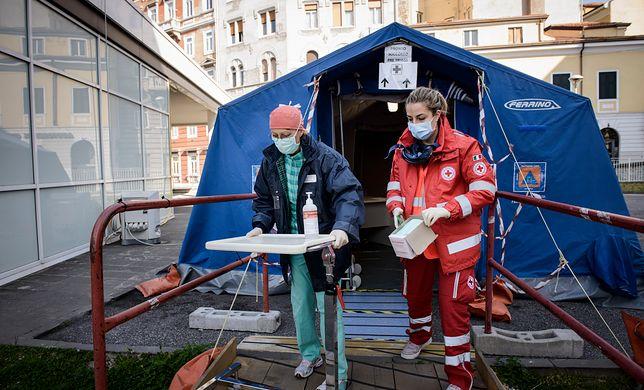 Koronawirus. Włochy. Polscy lekarze pracują w Lombardii