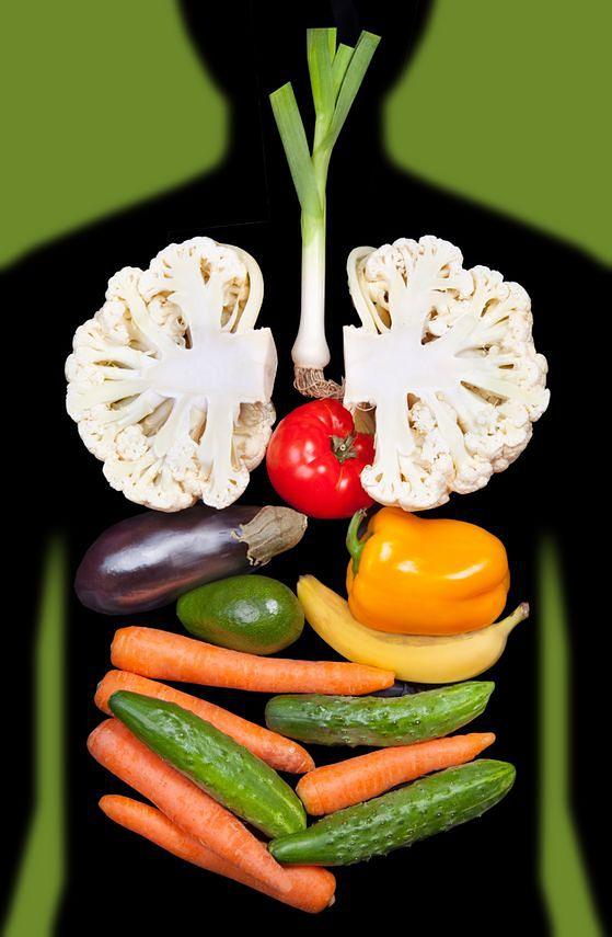 Odpowiednia dieta sprzyja oczyszczaniu płuc