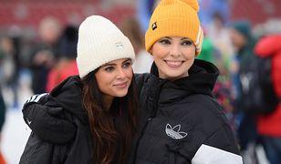 Dorota Gardias i Gabi Drzewiecka w zimowych stylizacjach.