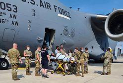 Afganistan. Kobieta urodziła dziecko na pokładzie samolotu ewakuacyjnego
