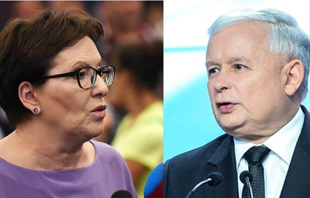 premier Ewa Kopacz i prezes PiS Jarosław Kaczyński