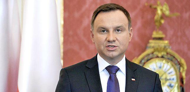 Andrzej Duda - mimo że według Polaków niesamodzielny, są z niego zadowoleni