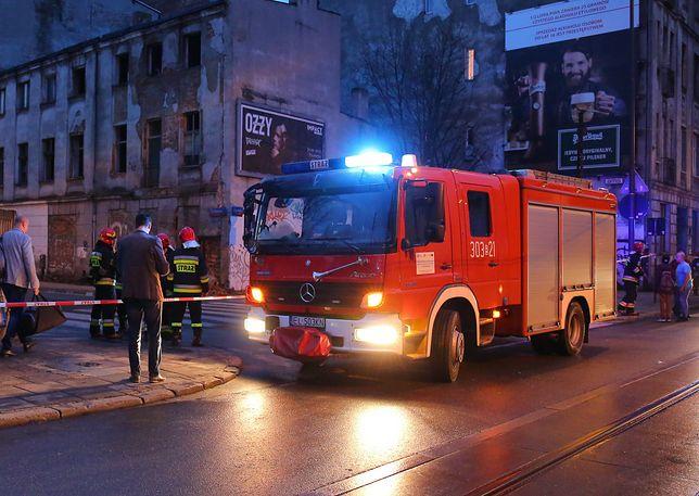 Awaria ciepłownicza na Pradze. Na miejscu była straż pożarna