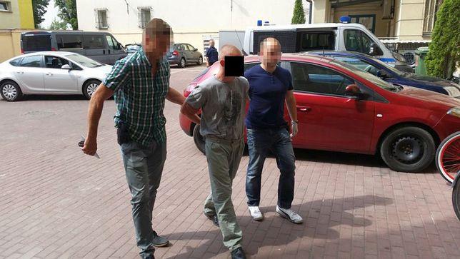 Policja zatrzymała podejrzanego Kamila W.
